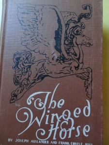 My copy of The Winged Horse, withdrawn from the Okmulgee Public Library