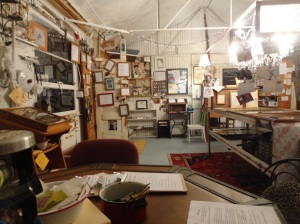 Inside the Rural Oklahoma Museum of Poetry