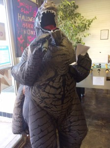 HH Godzilla reciting
