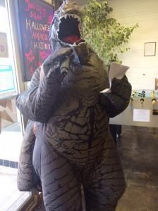 HH Godzilla reciting
